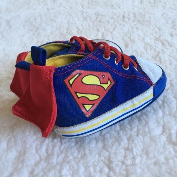 53b91fc8110ddb DC Comics Other - Infant Superman w Cape shoes 9-12 month